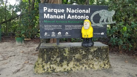 Captain Ahab of Ahab's Adventures exploring Manuel Antonio National Park in Manuel Antonio Costa Rica 2018
