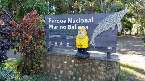 Captain Ahab of Ahab's Adventures exploring Marino Ballena in Costa Rica 2018