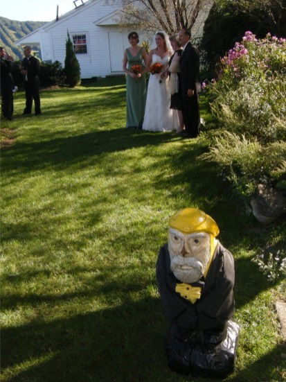 Captain Ahab of Ahab's Adventures at Brian and Becky's Wedding 2009