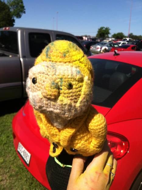 Captain Ahab's Mini Zilker of Ahab's Adventures at The Color Run in Austin Texas 2013
