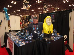 Captain Ahab of Ahab's Adventures with Lord Jeremy at the New York Comic Con 2013