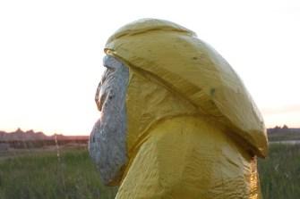 Captain Ahab of Ahab's Adventures at Badlands National Park 2011