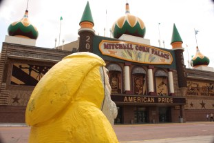 Captain Ahab of Ahab's Adventures at Mitchell Corn Palace in South Dakota 2011