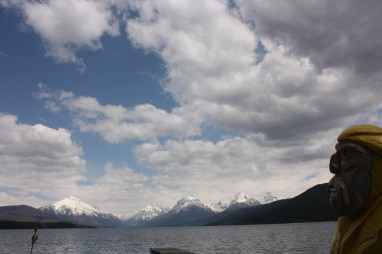 Captain Ahab of Ahab's Adventures in Glacier National Park in Montana 2011