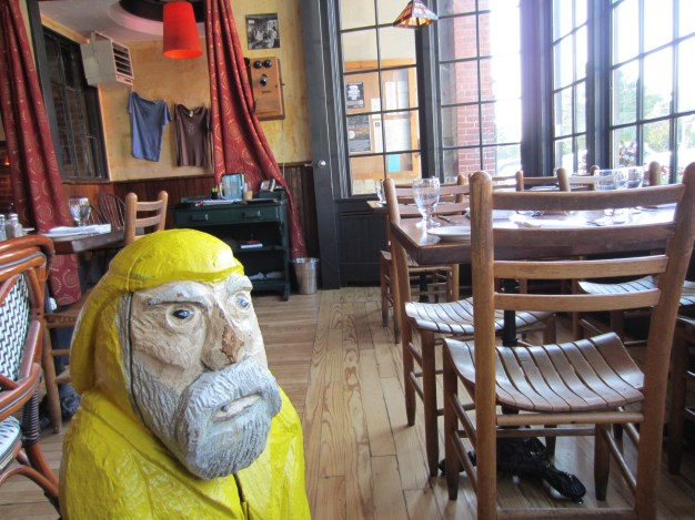 Captain Ahab of Ahab's Adventures at The Bobcat Cafe checking off his Vermont Brewery Passport 2011