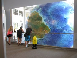 Captain Ahab of Ahab's Adventures at DeLorme with Eartha, The World's Largest Revolving and Rotating Globe 2013