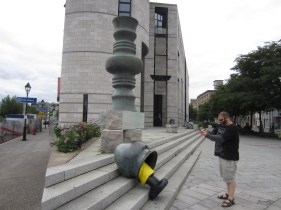 Captain Ahab of Ahab's Adventures in Montreal Quebec 2013