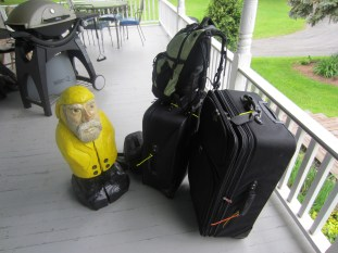 Captain Ahab of Ahab's Adventures all packed for Ireland 2014
