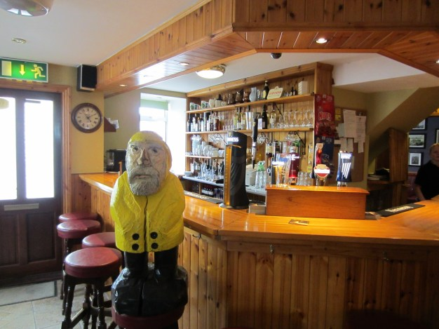 Captain Ahab of Ahab's Adventures at Knightly's Pub in Ireland 2014