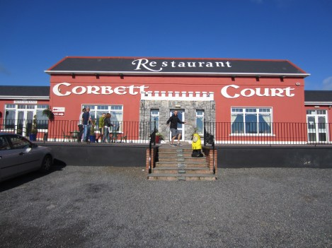Captain Ahab of Ahab's Adventures at Corbett Court in Ireland 2014