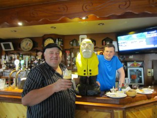 Captain Ahab of Ahab's Adventures in Ireland 2014