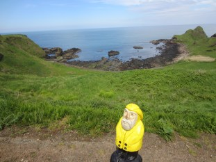 Captain Ahab of Ahab's Adventures at Giant's Causeway in Ireland 2014