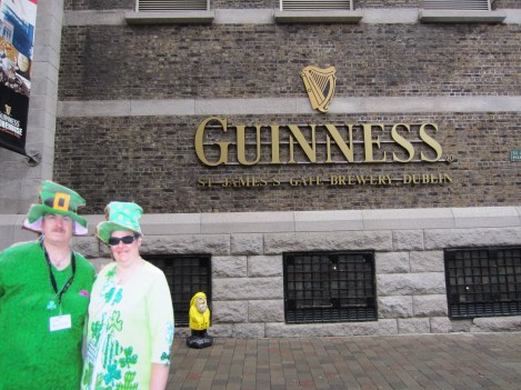 Captain Ahab of Ahab's Adventures at Guinness in Ireland 2014