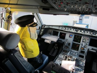Captain Ahab of Ahab's Adventures in Ireland 2014 Cockpit