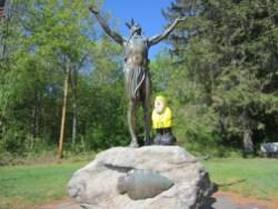 Captain Ahab of Ahab's Adventures at Hail to the Sunrise Park in Massachusetts 2015