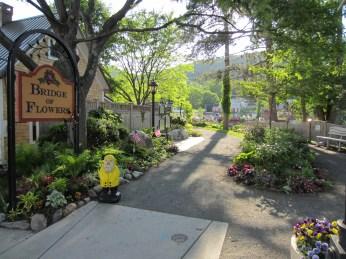 Captain Ahab of Ahab's Adventures at the Bridge of Flowers in Shelburne Falls Massachusetts 2015