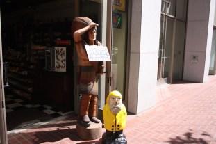 Captain Ahab of Ahab's Adventures in Downtown San Francisco California 2011