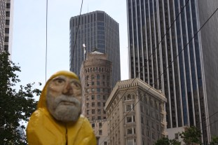 Captain Ahab of Ahab's Adventures in Downtown San Francisco California 2011