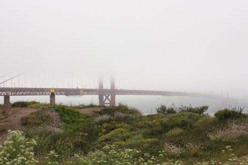 Captain Ahab of Ahab's Adventures at the Golden Gate Bridge in San Francisco California 2011