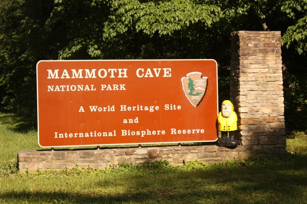 Captain Ahab of Ahab's Adventures at the Mammoth Cave National Park in Kentucky 2011