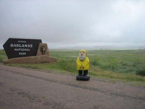 Captain Ahab of Ahab's Adventures at the Badlands National Park 2009