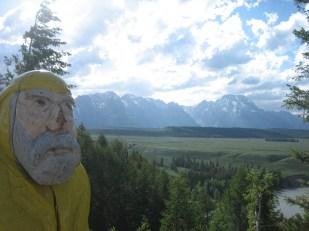 Captain Ahab of Ahab's Adventures at Grand Teton National Park in Wyoming 2009