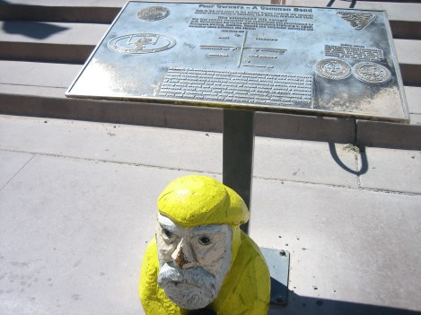 Captain Ahab of Ahab's Adventures at the Four Corners Monument USA 2009