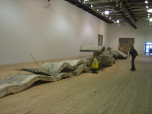 Captain Ahab of Ahab's Adventures visiting Mass MoCA 2010