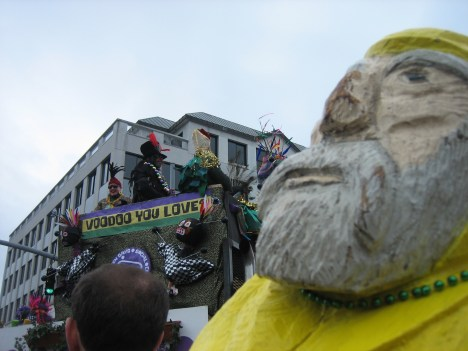 Captain Ahab of Ahab's Adventures at the Magic Hat Brewing Company Parade 2011