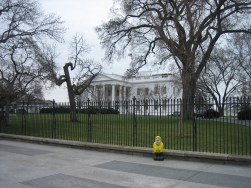 Captain Ahab of Ahab's Adventures visiting the White House in Washington D.C. 2011
