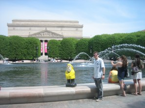 Captain Ahab of Ahab's Adventures wondering around Washington D.C. 2012