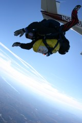 Captain Ahab of Ahab's Adventures Skydiving with Jumptown 2007
