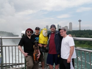 Captain Ahab of Ahab's Adventures at Niagara Falls State Park New York 2009
