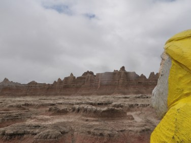 Captain Ahab of Ahab's Adventures at the Badlands National Park 2009