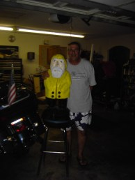 Captain Ahab of Ahab's Adventures with Uncle Mike on his Cross Country Road Trip of 2006