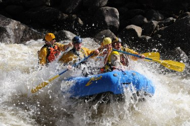 Captain Ahab of Ahab's Adventures White Water Rafting with Zoar Outdoor 2009