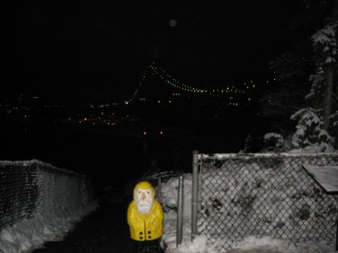 Captain Ahab of Ahab's Adventures at Lion's Gate Bridge Vancouver British Columbia Canada 2006
