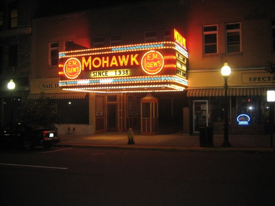 Captain Ahab of Ahab's Adventures at the Mohawk Theater in North Adams Massachusetts 2015