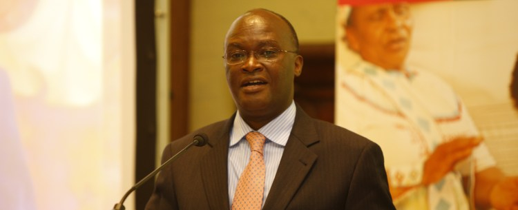 Dr James Macharia, Cabinet Secretary for Health, AHAIC 2014