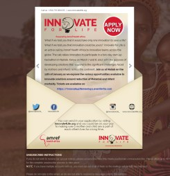 Amref Health Africa Innovate for Life Hackathon