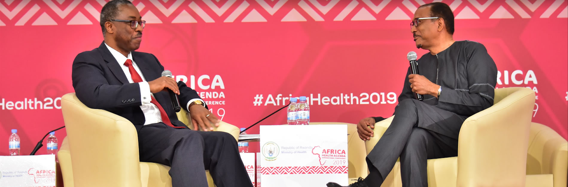 Africa Health 2019 Conference in Kigali, Rwanda Michel Sidibe