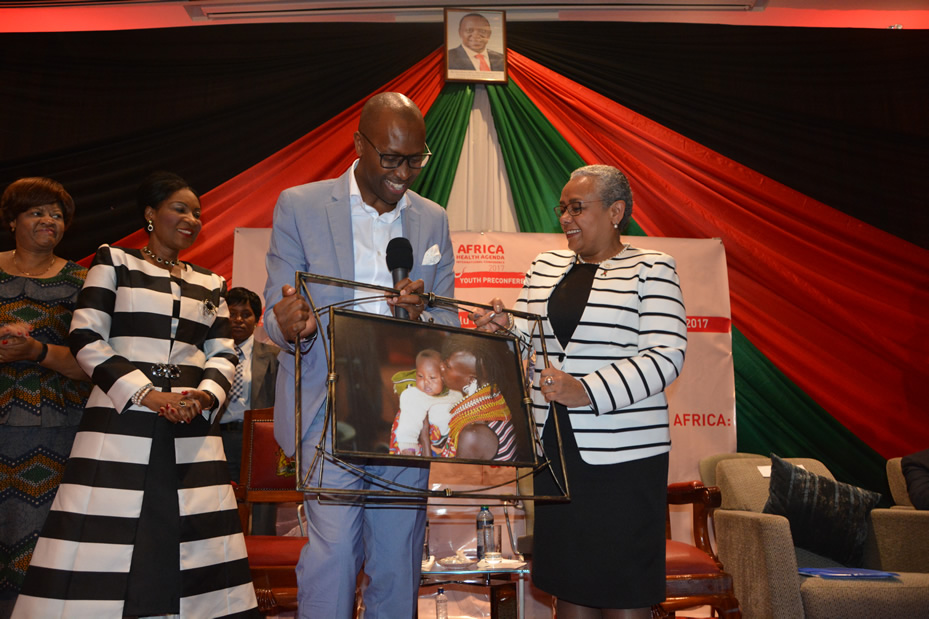 First Ladies Endorse Engagement of Youth in Charting Out Africa's Health Agenda