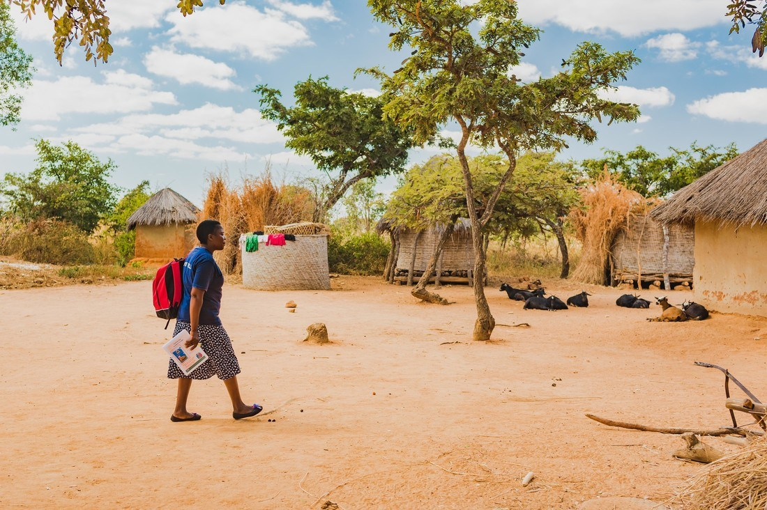 When health and opportunity knocks: Live Well brings health products to the doorsteps of rural Zambians in an innovative partnership between GSK, Barclays and CARE International.