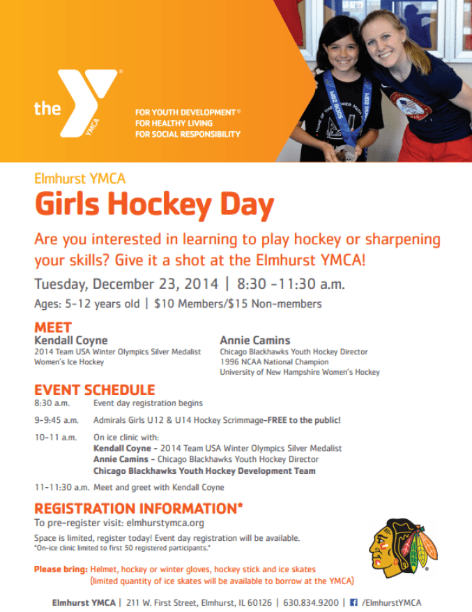 Girls Hockey Day