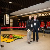 COACHES UC BLACKHAWKS LOCKERRROM