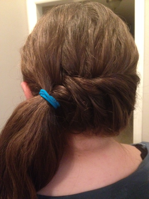 style hair at home