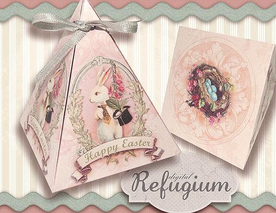 vintage Easter printables