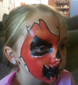 Halloween Face Paint Ideas for Adullts