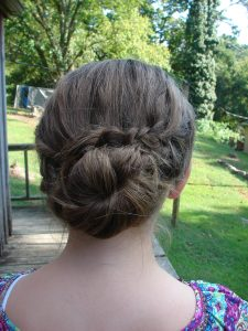 cute homecoming updos