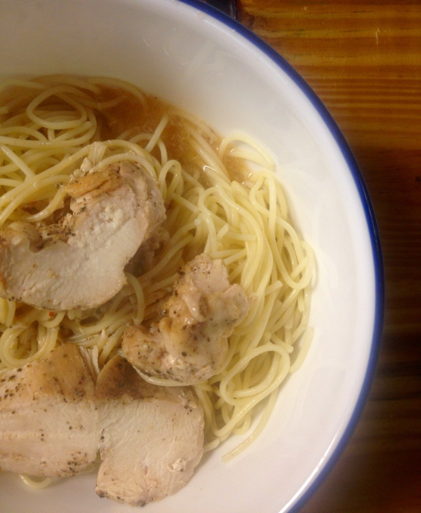 easy Chinese chicken noodle soup